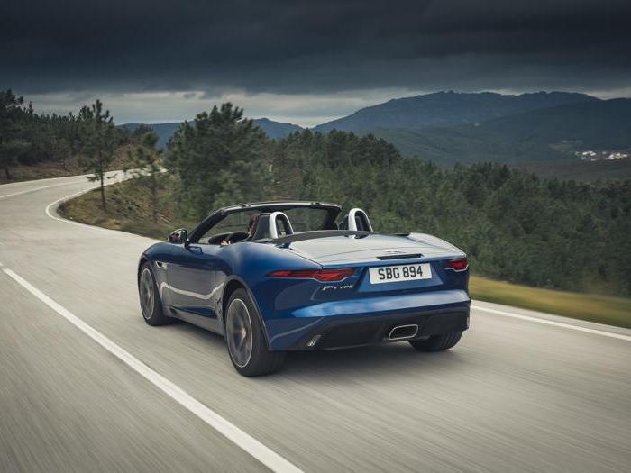 Jaguar F-type, tutte le foto della nuova serie