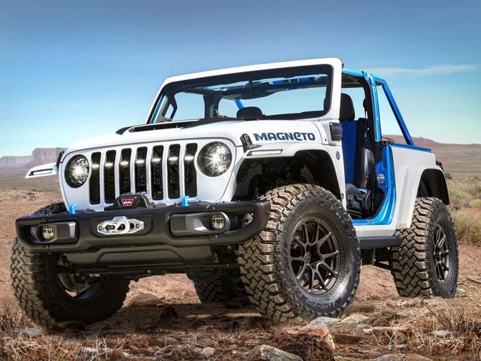 Jeep Magneto, tutte le foto del fuoristrada elettrico