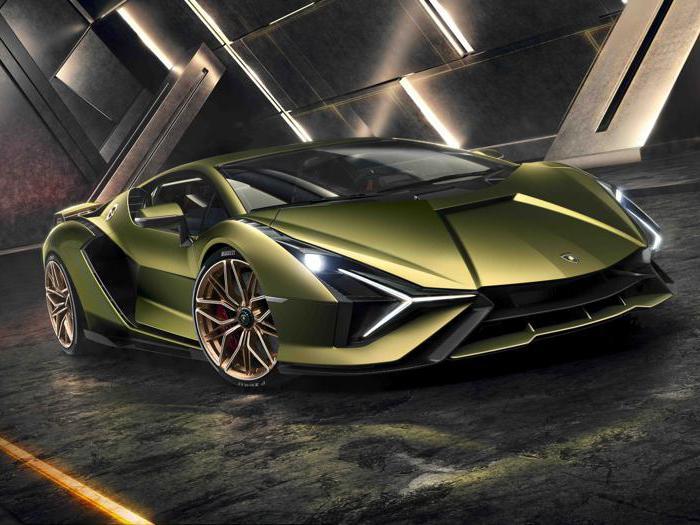 Lamborghini Sian, l'hypercar con i super condensatori