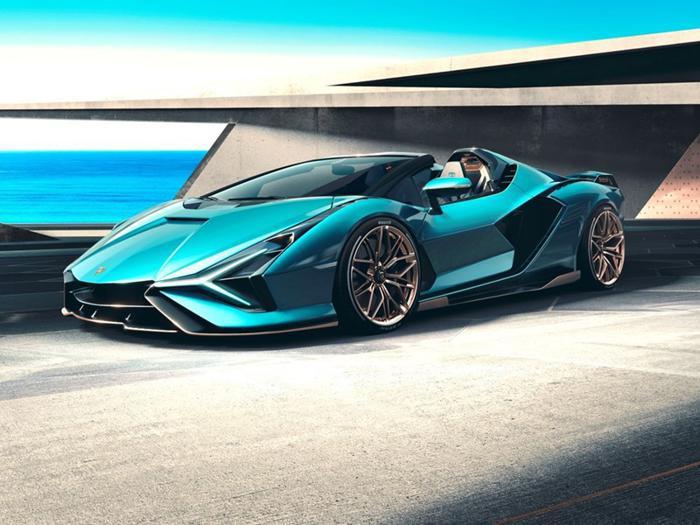 Lamborghini Sián Roadster, la nuova supercar ibrida <br/>