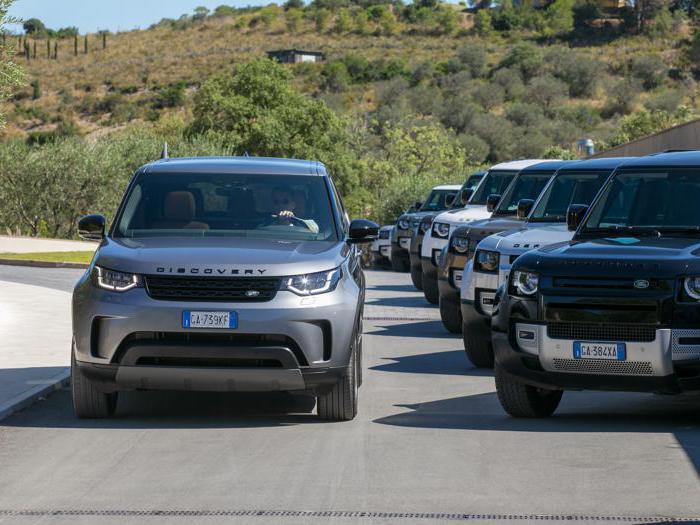 Land Rover Defender, tutte le foto in fuoristrada
