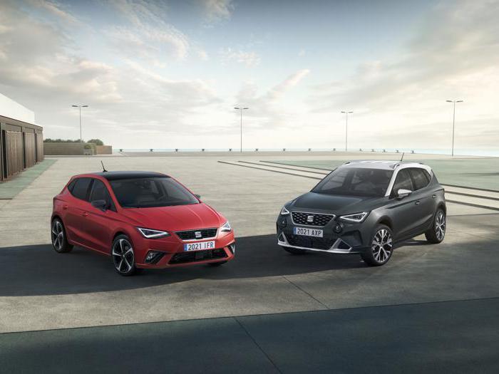 Le foto delle nuove Seat Ibiza e Arona