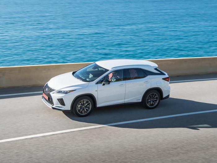 Lexus RX 2020, la nuova edizione del suv ibrido