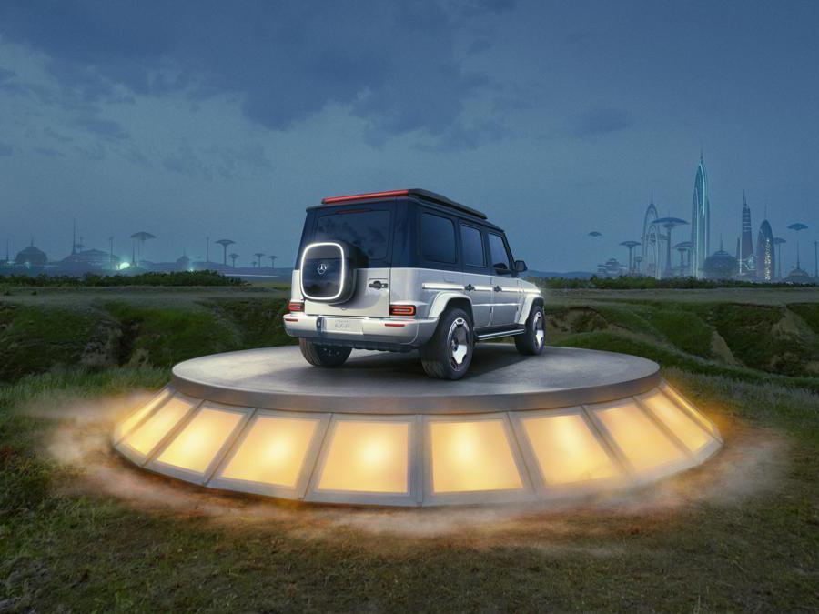 Mercedes-Benz Concept EQG Mercedes-Benz Concept EQG