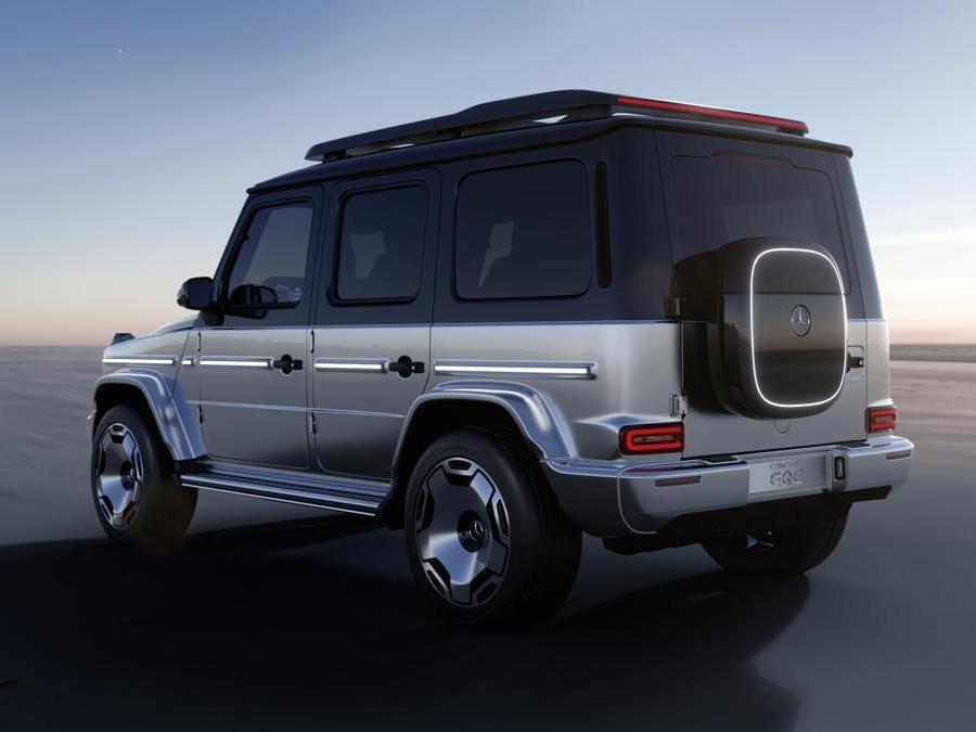 Mercedes-Benz EQG Mercedes-Benz Concept EQG