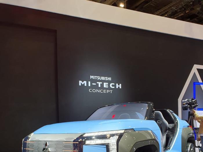 Mitsubishi Mi-Tech, l'auto del futuro con la turbina che carica le batterie