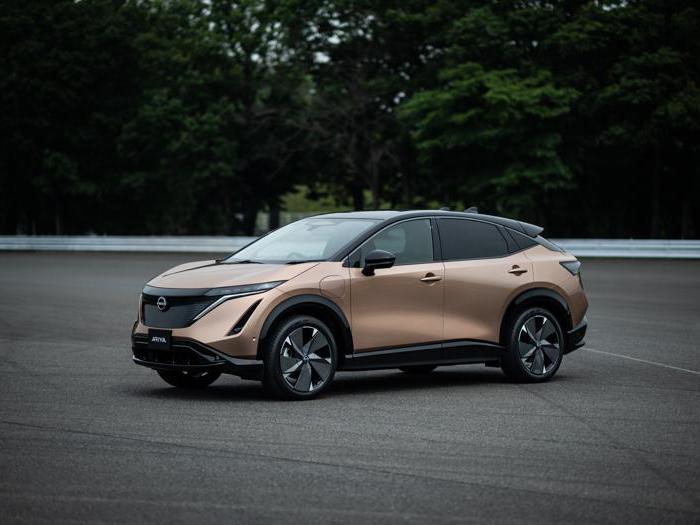 Nissan Ariya, tutte le foto del nuovo suv elettrico<br/>