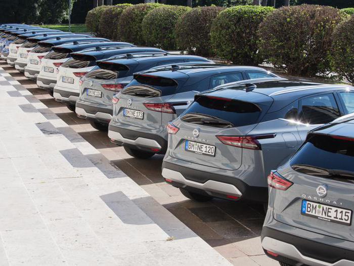 Nissan Qashqai, tutte le foto del test drive