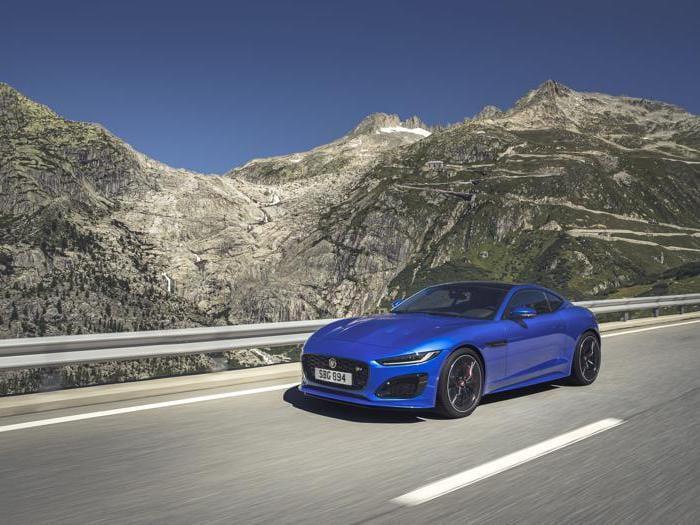 Nuova Jaguar F-Type, tutte le foto