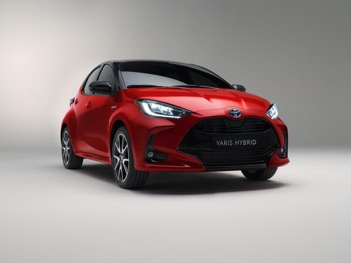 Nuova Toyota Yaris, tutte le foto del debutto