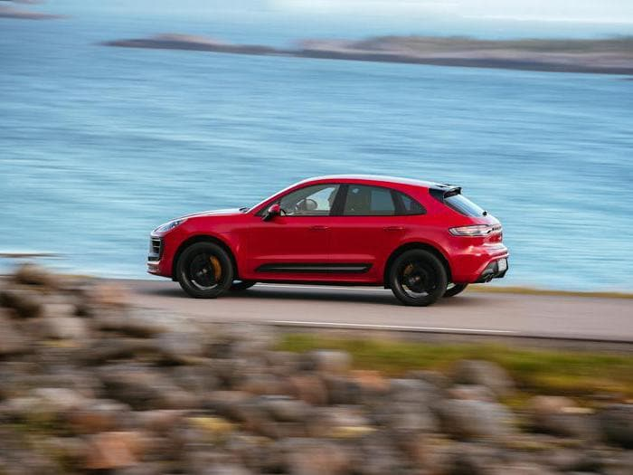 Porsche Macan Gts, tutte le foto della prova