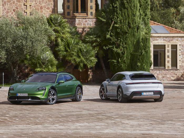 Porsche Taycan Cross Turismo, tutte le foto della sportiva elettrica