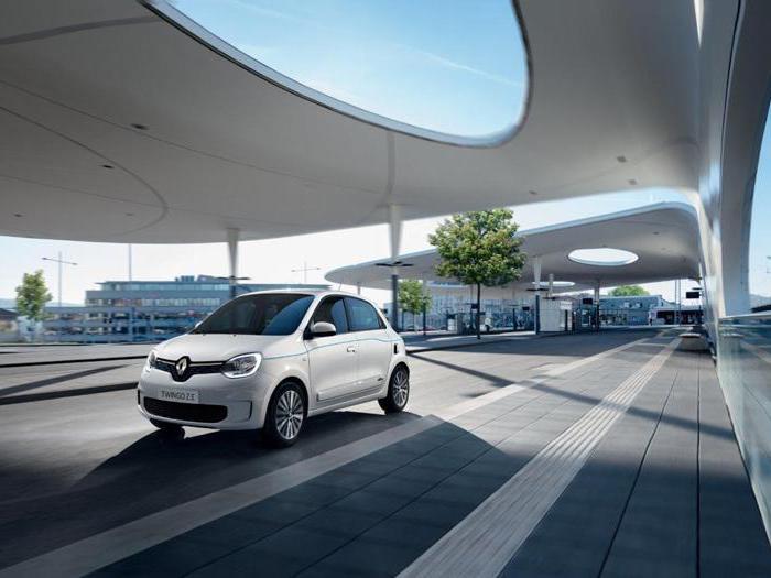 Renault Twingo Z.E., tutte le foto della nuova citycar elettrica