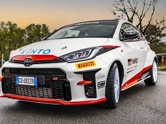 Toyota Yaris GR Rally Cup, ecco tutte le foto