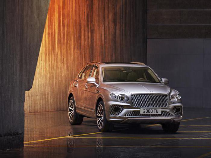 Tutte le foto della Nuova Bentley Bentayga