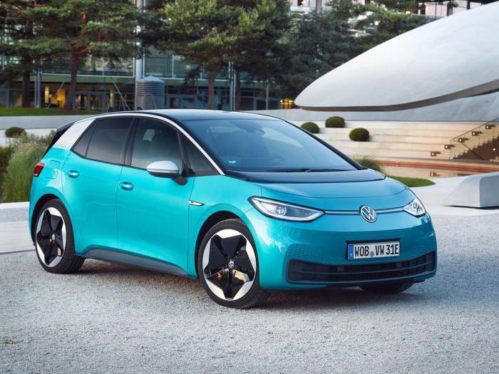 Volkswagen Id.3, tutte le foto dell'elettrica tedesca