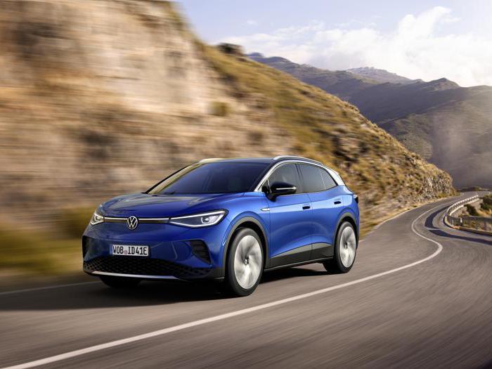 Volkswagen id.4, tutte le foto del nuovo suv 100% elettrico