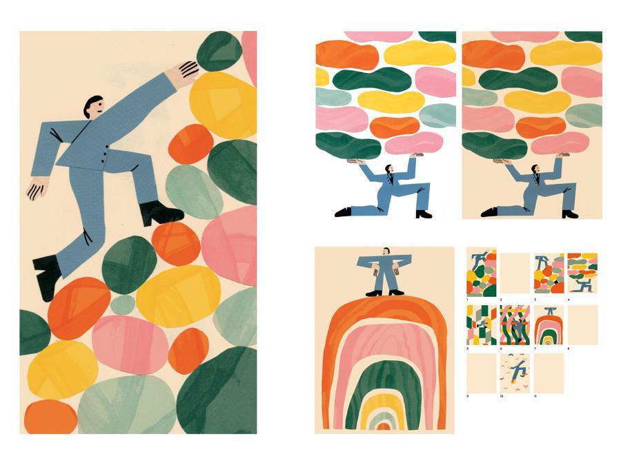 Elisa Marzano - Contest Il Sole 24 Ore-Mimaster Illustrazione x #OrientaProfessioni