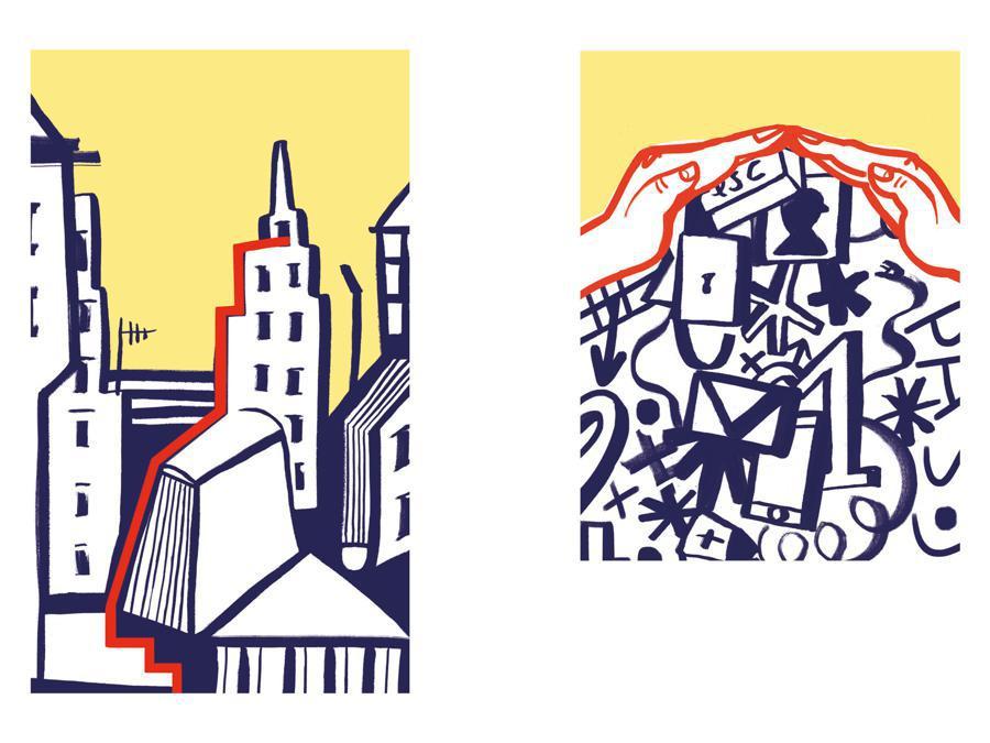 Giulia Serafin - Contest Il Sole 24 Ore-Mimaster Illustrazione x #OrientaProfessioni