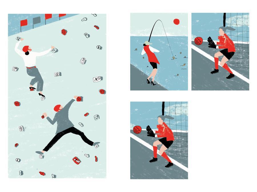 Lavinia Fagiuoli - Contest Il Sole 24 Ore-Mimaster Illustrazione x #OrientaProfessioni