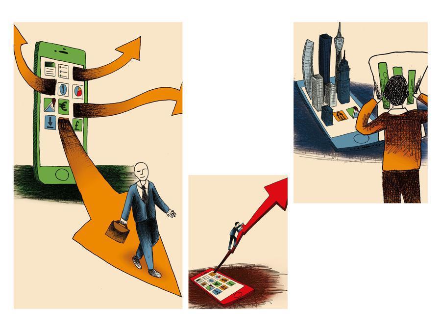 Giulia Corti - Contest Il Sole 24 Ore-Mimaster Illustrazione x #OrientaProfessioni