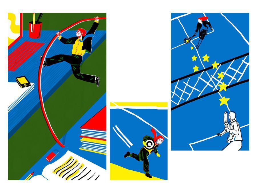 Angelo Licciardello - Contest Il Sole 24 Ore-Mimaster Illustrazione x #OrientaProfessioni