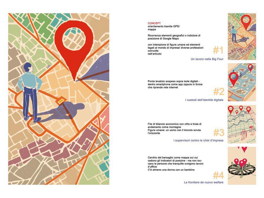 Alice Berti - Contest Il Sole 24 Ore-Mimaster Illustrazione x #OrientaProfessioni