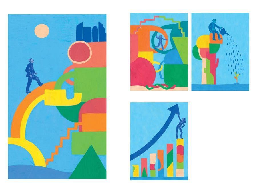 Raffaella Innocenti - Contest Il Sole 24 Ore-Mimaster Illustrazione x #OrientaProfessioni