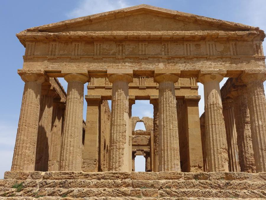 Tempio della concordia, Agrigento, Valle dei Templi