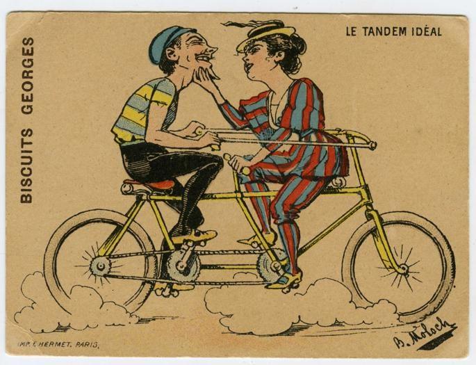 Due secoli di bicicletta attraverso le figurine