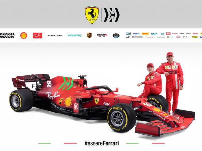 Formula 1, Ferrari svela la Sf21