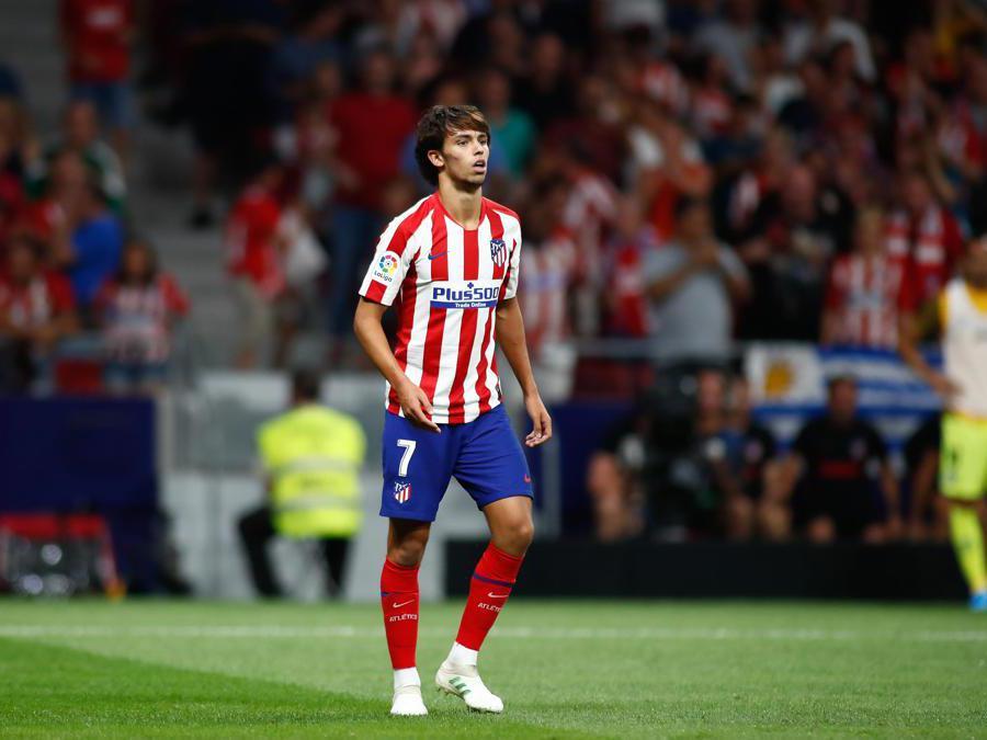 JIl talentuoso attaccante 19enne portoghese, Joao Felix, acquistato dall'Atletico Madrid. Al Benfica 126 milioni di euro. (Afp)