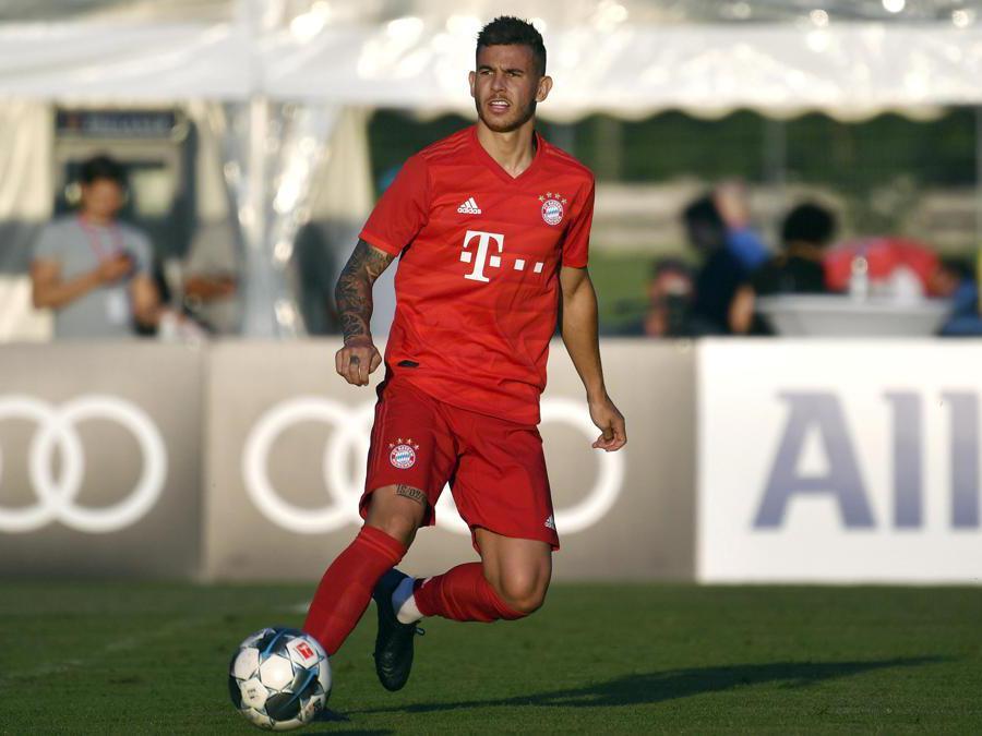 Il 23enne difensore francese Lucas Hernandez, acquistato dal Bayern Monaco. Nelle casse dell'Atletico Madrid 80 milioni di euro. (Ap)