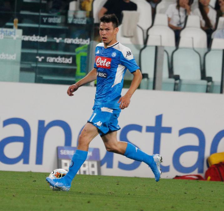 Il 24enne attaccante messicano Hirving Lozano acquistato dal Napoli. Al PSV Eindhoven 38 milioni di euro più bonus. (Afp)