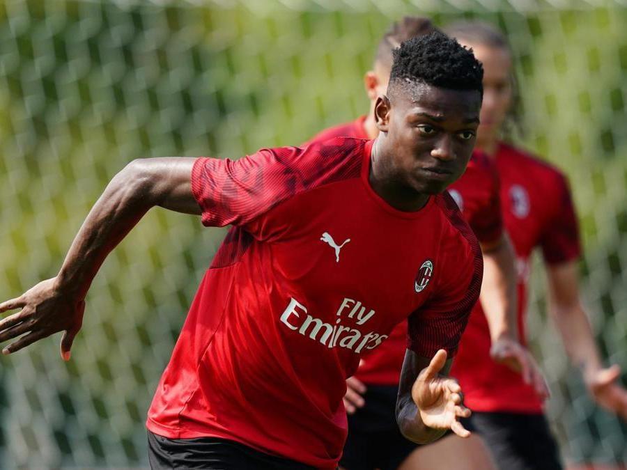 Il 20enne attaccante portoghese Rafael Leão acquistato dal Milan. Al Lilla 35 milioni di euro. (acmilan.com)