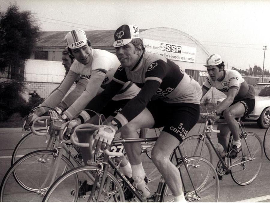 1965. Gimondi e Knudsen (Ansa)