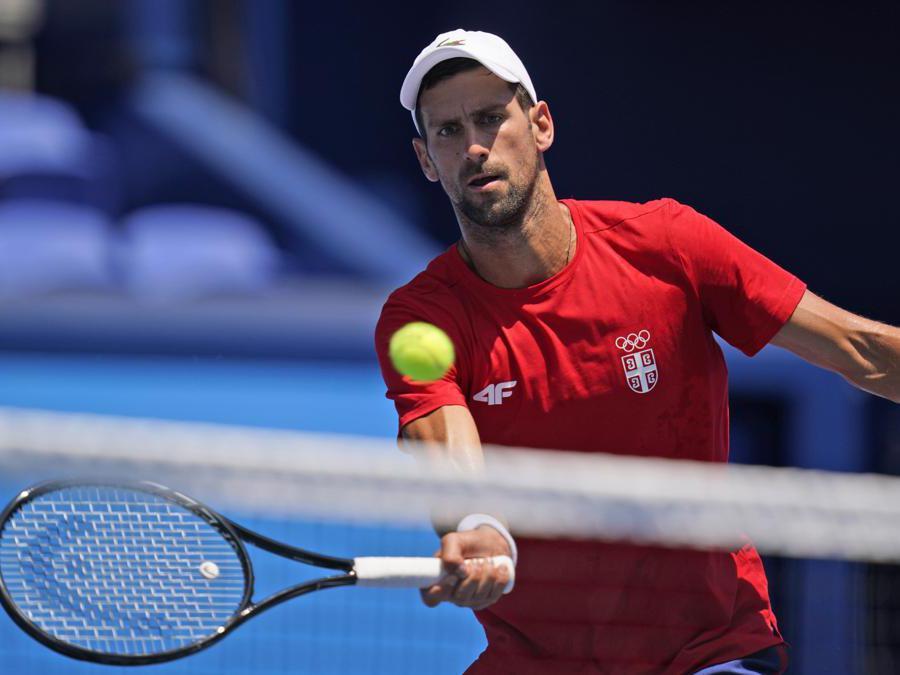 Novak Djokovic,  (AP Photo/Seth Wenig)