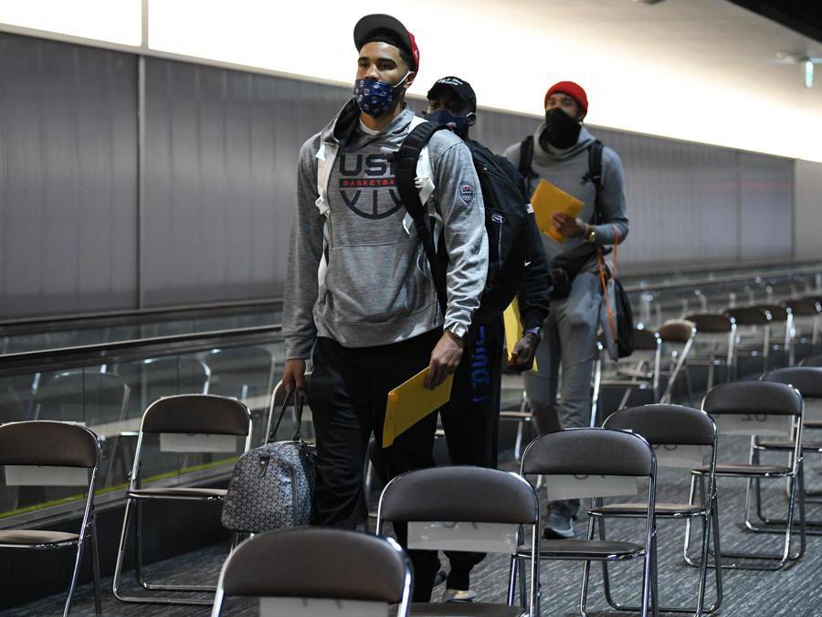 Jayson Tatum  (Photo by Kazuhiro NOGI / AFP)