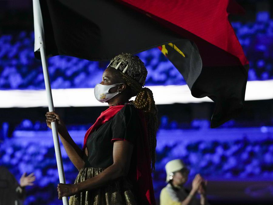 Natalia Santos dell'Angola (AP Photo/Natacha Pisarenko)