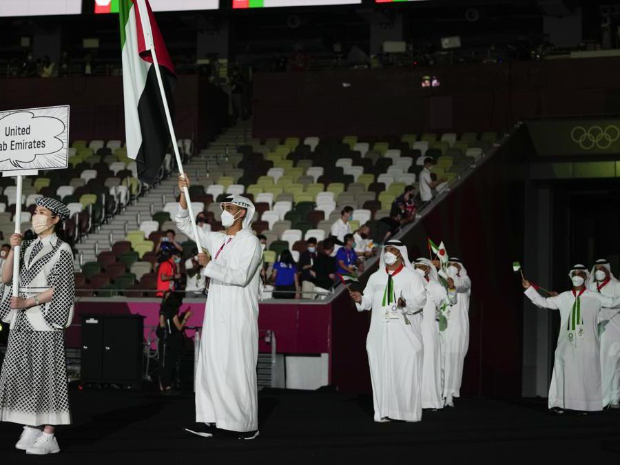 Yousuf Almatrooshi, degli Emirati Arabi (Ap Photo/Natacha Pisarenko)