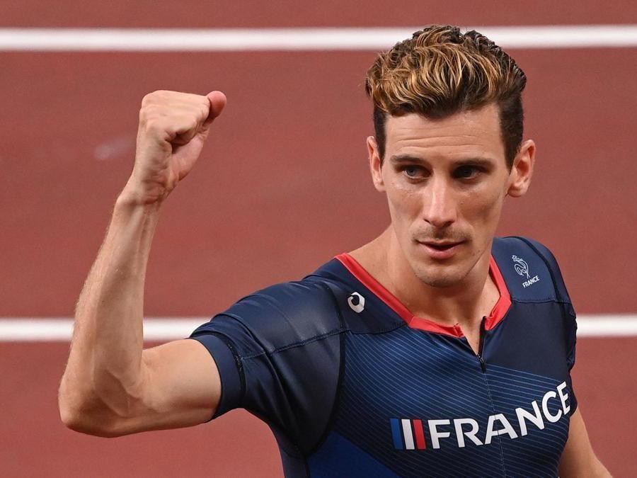 Semi finali 800m uomini: il francese Pierre-Ambroise Bosse (Afp/Ina Fassbender)