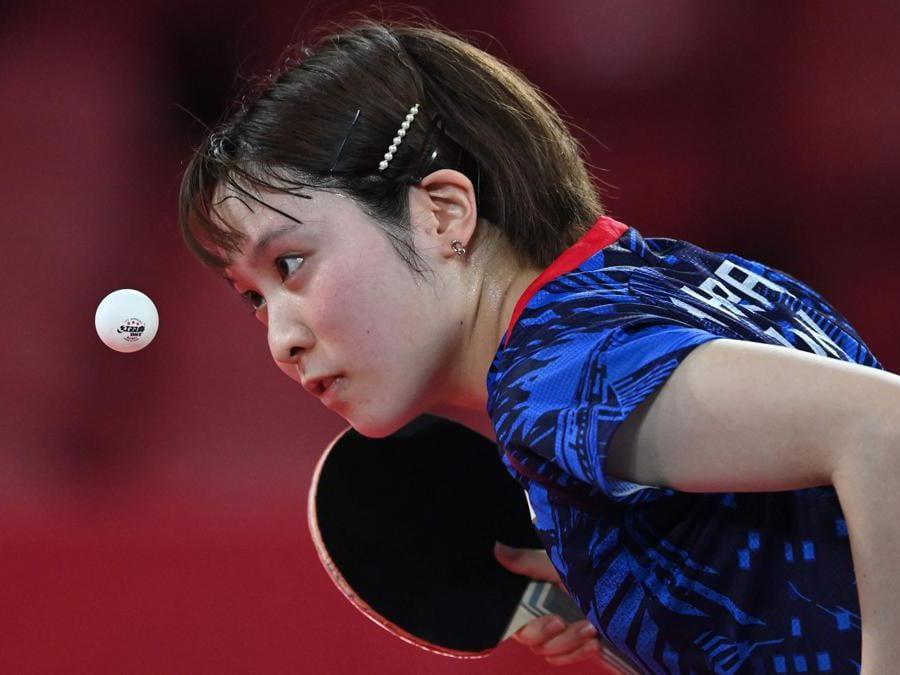 Tennis da tavolo: la giapponese Miu Hirano  (Afp/Adek Berry)