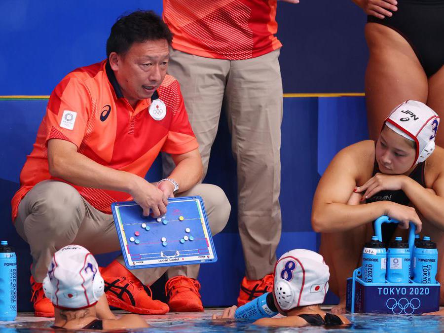 Pallanuoto femminile Gruppo B Giappone contro UngheriaToky. REUTERS/Kacper Pempel