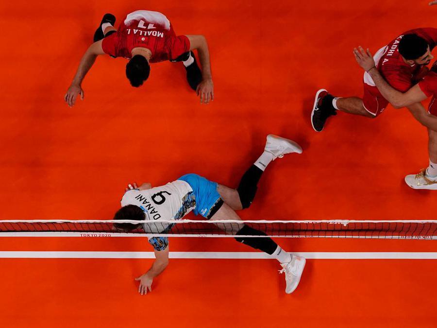 Volley  Argentina contro Tunisia /Carlos Garcia Rawlins