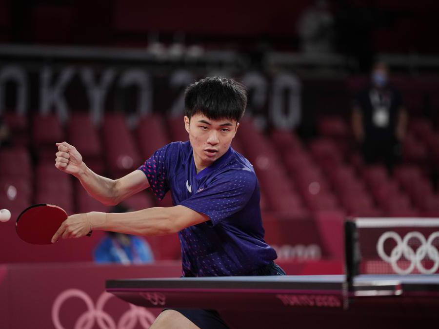 Il taiwanese Lin Yun-ju (Ap Photo/Kin Cheung)