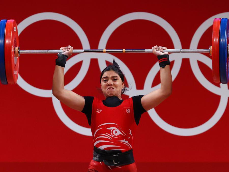 La tunisina Chaima Rahmoun (Reuters /Edgard Garrido)