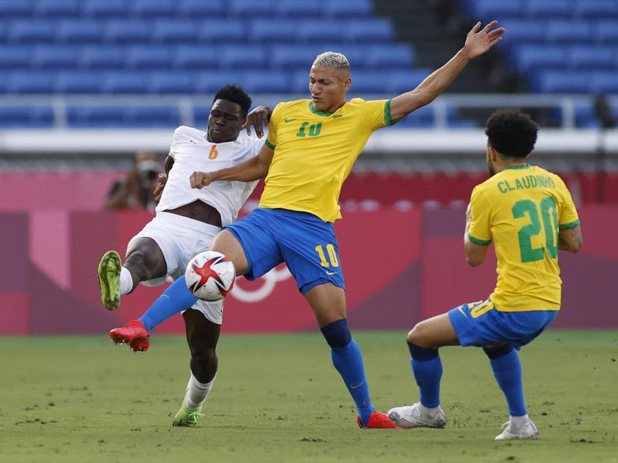 Calcio, incontro tra Brasile e Costa d'Avorio (REUTERS/Phil Noble)