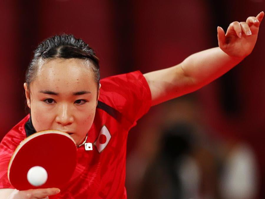 La giapponese  Mima Ito  (Reuters/Luisa Gonzalez)