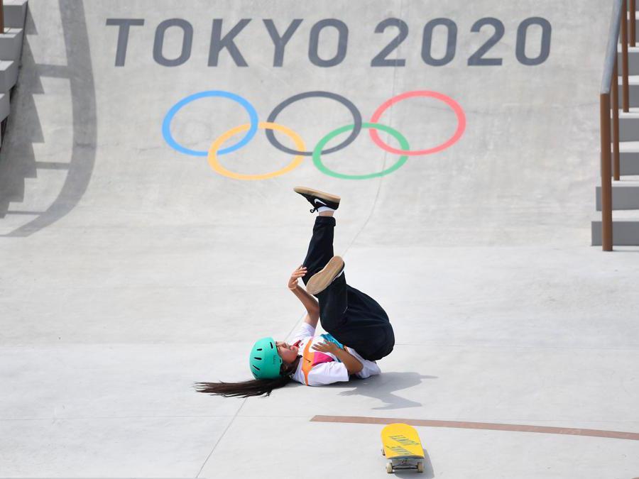 La giapponese Funa Nakayama (Reuters/Toby Melville)