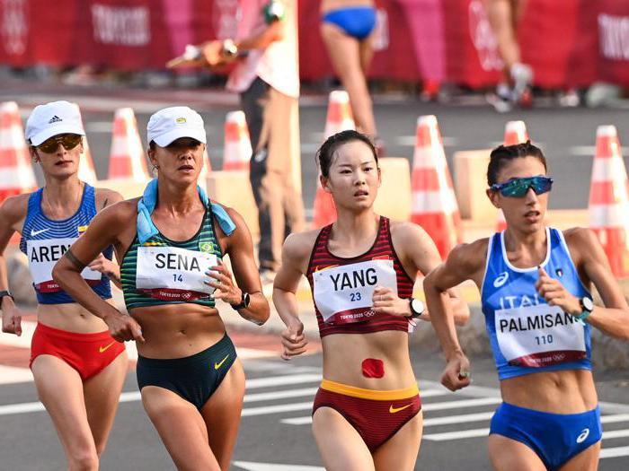 Palmisano oro nella 20 km di marcia donne